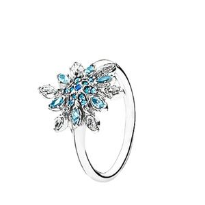 Pandora Crystallized Snowflake Sliver CZ Ring